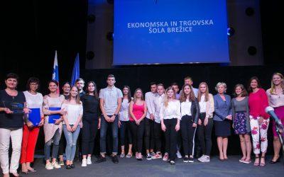 Ekonomska in trgovska šola Brežice – prva posavska šola ambasadorka Evropskega parlamenta