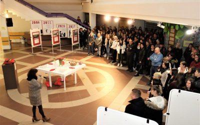 Na ETrŠ Brežice gostili množico devetošolcev, nova zdravstvena programa še vabita