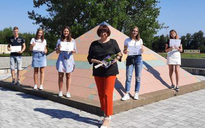 Ekonomska in trgovska šola Brežice osvojila odlično 3. mesto v programu Šola ambasadorka Evropskega parlamenta in Evrošola