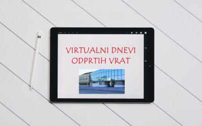 Virtualni dnevi odprtih vrat 2021